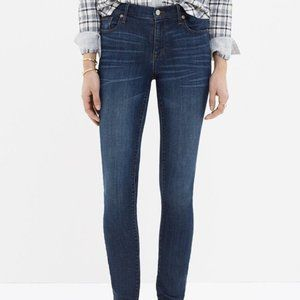 "Madewell 9"" High Riser Skinny Skinny Crop Jeans"